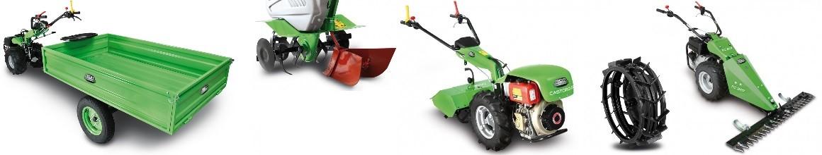 Pedestrian Tractors