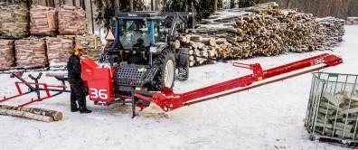 WP36TR Firewood Processor (sold)