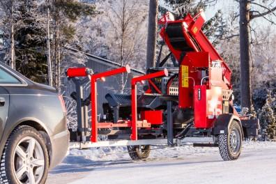 WP36 Road Tow Firewood Processor
