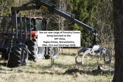 Professional Forestry Cranes