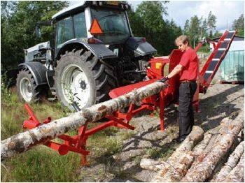 WP36TR-8 Firewood Processor