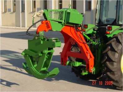 RRZ165 Skidding Grapple