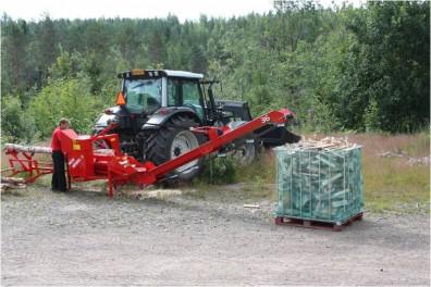 WP36TR-10 Firewood Processor