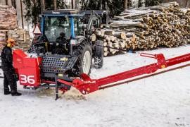 WP36TR Firewood Processor