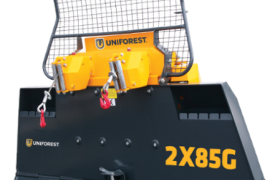 Uniforest 2X85G Forestry winch