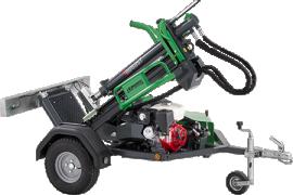 Robust R13BA Petrol engine Towable Log Splitter