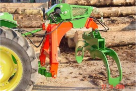 RRZ165 Skidding grapple with Winch