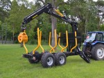 Country Forestry trailers & cranes
