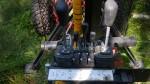 JMS900 Forestry trailer & crane